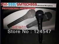 free ship NEW SM959 microphone professional wire microphone SM959 With switch SMTECH959 Microphone microfone microfono mikrofon