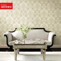 Free shippingTv background wall  fashion non-woven  high quality ra458 wall sticker