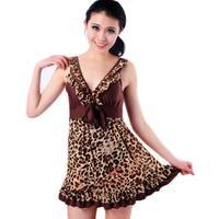 Hot spring swimwear one-piece dress female mm plus size swimwear