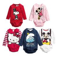 2014 New! Free Shipping! Newborn Bodysuit, Full Sleeve Baby Bodysuits,Girl Boy Jumpsuit,Baby Clothing