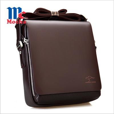 2015 Hot Sale! New arrived pu leather men's shoulder bags Fashion men's messenger bag Casual men bussiness travel bag LJ0002(China (Mainland))