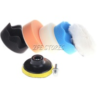 6X3'' Buffing Pad Kit Compound-Polishing-Auto Car Detail