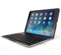 High Quality Fashion Luxury Automatic Aluminum Wireless Bluetooth Keyboard Case Cover For iPad Air/5 With 7Color Backlit