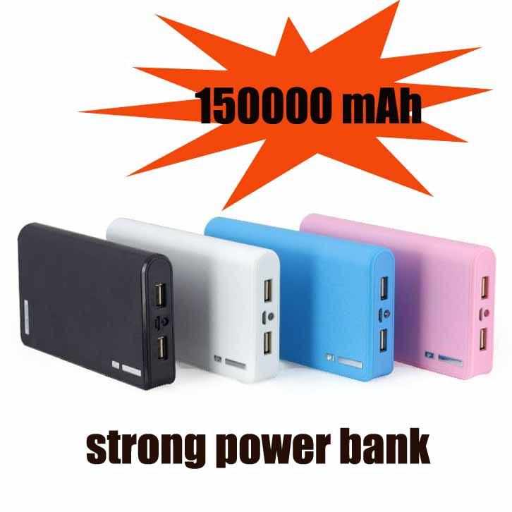Ro 1pc all'ingrosso- dhl fedex spedizione gratuita 2014 banca nuova potenza 150,000 mAh caricabatterie, batterymobile batteria del telefono mobile.,