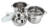 24cm Stainless Steel Pasta Pot Stock pot steamer