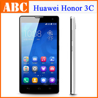 Original 5 inch HUAWEI Honor 3C 3G/WCDMA Android 4.2 Smart phones H30-T00 MTK6582 Quad Core 1.3GHz 2GB RAM 8GB 8.0MP Camera
