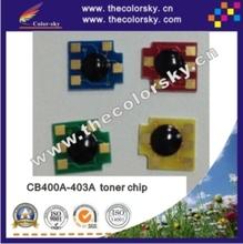 (CZ-DH4005) laser toner carridge reset chip for HP CB400A – CB403A Color LaserJet CP4005 CP4005n CP4005dn bkcmy-7.5k free dhl