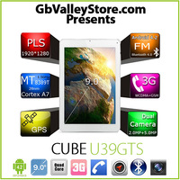"Cube U39GTS TALK9 9.0"" Tablet PC 3G phone Android 4.2 MT8389T Quad Core 1.5G 1GB 16GB 1920x1280 5.0MP Camera HDMI Bluetooth GPS"