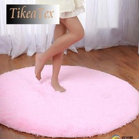 80*80cm 4.5cm Thicken Circle Shaggy Round Shape tapete Carpet for Bedroom living room Rug / door mat / anti-slip a0211