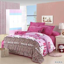cheap comforter set pink