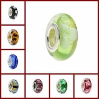 Under 1 dollar,  fit for baigi european bracelets for women jewelry jewellery multi-choice lots sets murano glass beads