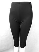 Women Spring & Summer Black milk silk pant thin Leggings