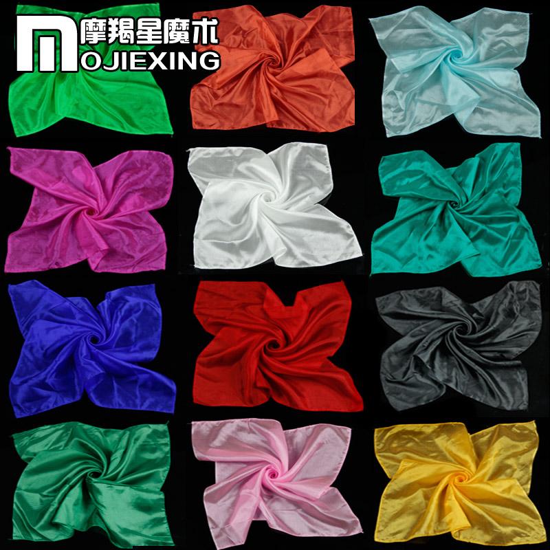 Ultra- légerfonction magie. foulard de soie nouveau tour de magie jouets 5pcs/lot pour la magie prop en gros livraison gratuite