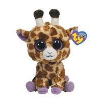 Free shipping New Original  TY Beanie Boo Big Eye Animals Kawaii  Safari the Giraffe Stuffed Dolls For Children 16cm