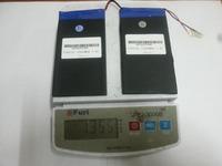 5pcs+7.4V 12000mAh CUBE U30GT U30GT1 U30GT2 tablet battery plates 66MM * 3.7MM * Length 125MM *2
