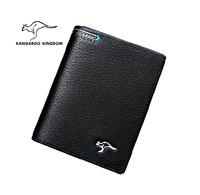 Kangaroo designer handbags high quality wallet  genuine leather wallets man bag purse card clip carteira feminina