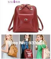 HOT!genuine leather famous Italian designer SISI Brand women  ! girls shoulder bag fashion preppy style vintage handbag!