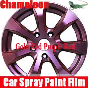 automotive wheel spray film chameleon change color wheel paint spray. Black Bedroom Furniture Sets. Home Design Ideas