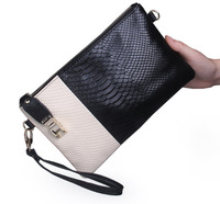 2014 new fashion women's clutches genuine leather wallets women's handbag women leather handbag fashion women's wallets QB81