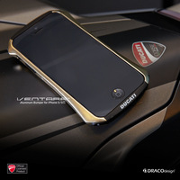 DRACO DUCATI Ventare Deff CLEAVE Motorcycle Racing Design Aviation Aluminum Bumper Metal Case for iPhone 5 5S,1pcs,Free shipping