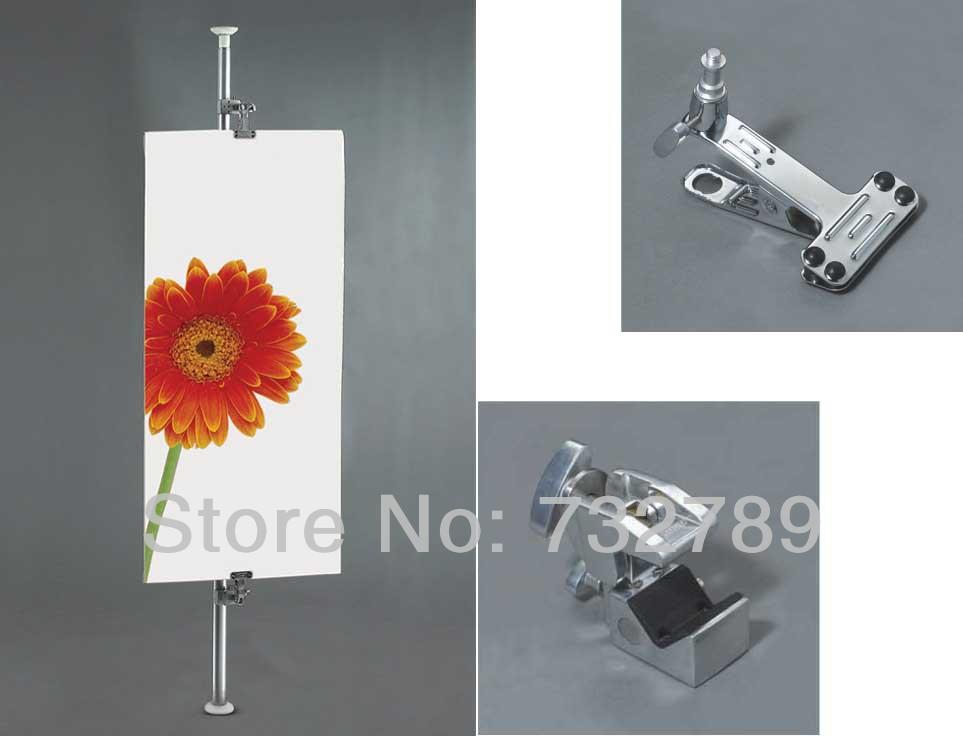 New arrival DIY Shop Display,Heaven and Earth Column,Pos Display Stand,KT Board Display POS-1009(China (Mainland))