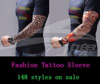 Nylon Stretchy Roch UV Punk Tattoo Sticker Free Shipping 1pcs/pair