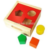 Shape box shape wooden box educational toys