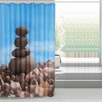 Bathroom products ZEN bathroom shower curtain terylene bath curtain 180x180cm ,screen shower,curtain bath