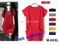 M-XXXL spring autumn and winter fashion  sweater dressfreeshipping