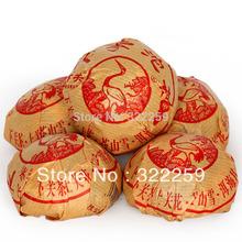 GREENFIELD PROMOTION 2013 yr 100g X 5pcs Jia Ji Premium Yunnan XiaGuan Tuocha Group Pu