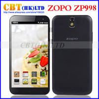 Original ZOPO ZP998 MTK6592 Octa Core Phone 2GB RAM 16GB ROM 1.7GHz 5.5'' IPS 1080p FHD Screen Dual Sim GPS NFC OTG