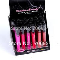Lip Gloss Lip Glass Lip Tint 24pcs/lot 12 colors Lip Pigment Waterproof Lipgloss Set Vitamin 24 Hours Long Lasting 1020