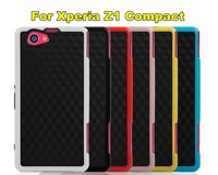 New Arrival!Mix Color TPU Soft Back Cover Case For SONY Xperia Z1 Compact,6 Color For SONY Xperia Z1 mini Case Free Shipping!