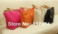 Free Shipping+Wholesale candy color trend vintage messenger bag women's handbag female PU fashion shoulder bag,30pcs/lot