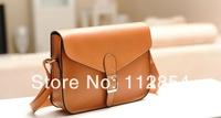 Free Shipping+Wholesale Women Lady Handbag Satchel Purse PU Casual Tote Shoulder Cross body Messenger Bag,50pcs/lot