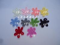 Min order is $10 DIY Knitting wool Crochet flowers Headband For Infant Babys Girls small shoe Children Hair Accessories