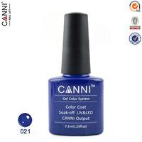 New Arrival 12 Color coat Soak Off UV/LED Nail Gel Canni shellac gel polish Fashion Color gel base gel top coat
