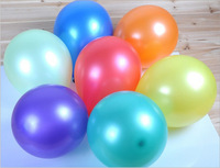 100pcs/lot 10inch1.2g  Pearl White Wedding Birthday Party Decoration happy  Ballons Latex Round  helium Balloon
