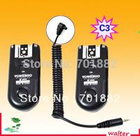 EU SALES Camera Remote Flash Trigger RF-603 C3 FOR CAN/N 7D 1D 1DS 5D 5D II 50D 40D 30D 20D 10D