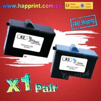 High Quality Ink Cartridge for Lexmark 82 83 18L0032 18L0042 X5100 X5150 X5190 X5200 X6100 X6150 X6190 X65 Z55 Z65 (1Pair)
