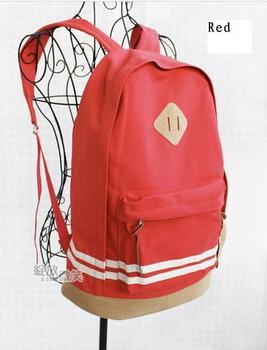 Candy Цвет Модный Canvas Backpack Rucksack Student Book School Travel Bag DropsТазping ...