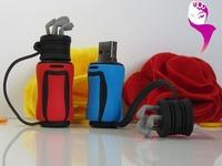 Wholesales  new hot selling blue golf ball arm bag model usb flash drive thumb disk pen drive nice gift