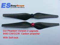 DJI Phantom Version 2 upgrade 9443 CW/CCW propeller Carbon Fiber propeller, with SELF-LOCK