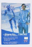3XL Hot Bodybuilding fitness suits gym sport suit Sauna workout suit Ultrathin PVC sports suits TV hiking jersey sets
