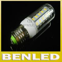10pcs/lot Warm white/ white 220v crystal chandelier lighting SMD5730 12W E27 LED bulb lamp, 36 leds 5730 SMD E27 LED lighting