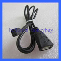 Nissan New Teana Qashqai Female USB Cable CD Changer Audio Cable Adapter Brazil Freeshipping