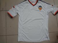 new Free shipping valencia cf home soccer jerseys valencia cf white football jerseys top thailand 3A+++ quality T Shirt