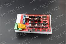 50PCS/LOT RAMPS 1.4 3D printer control panel printer Control Reprap MendelPrusa