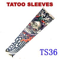 Nylon Stretchy Roch UV Arm  Tattoo Sleeve Stockings Idea Punk Free Shipping