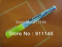 Brand Goodplus yellow 3mm Highlighter Fluorescent Liquid Chalk Marker Pen for LED Writing fluorescent Board pen